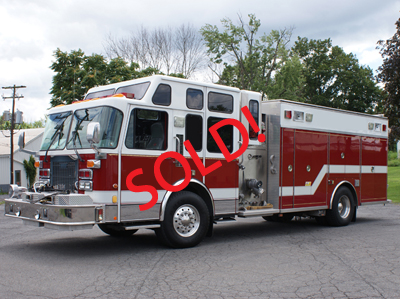 Recent Fire Truck Deliveries